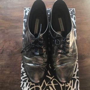 Diane Von Furstenberg Leather Oxfords